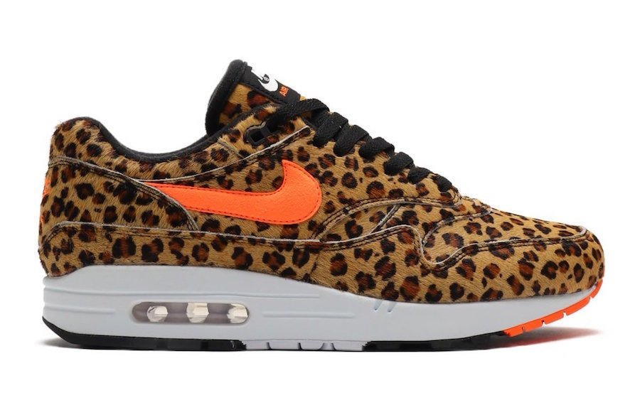 atmos Nike Air Max 1 DLX Animal 3.0 Pack Leopard AQ0928-901 Release Date Info