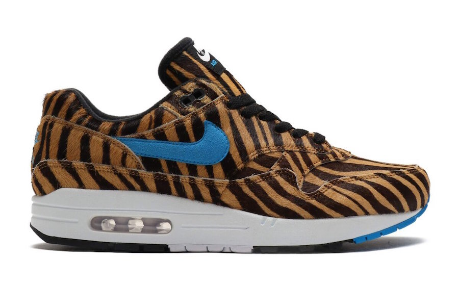 atmos Nike Air Max 1 DLX Animal 3.0 Pack Tiger AQ0928-900 Release Date Info