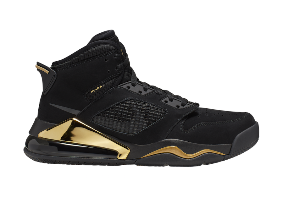 Jordan Mars 270 DMP Black Metallic Gold CD7070-007 Release Date Info
