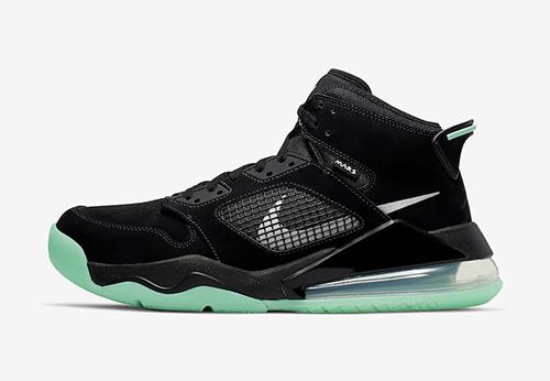 Jordan Mars 270 Green Glow Release Date