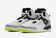 Jordan Spizike White Black Volt 315371-170 Release Date Info