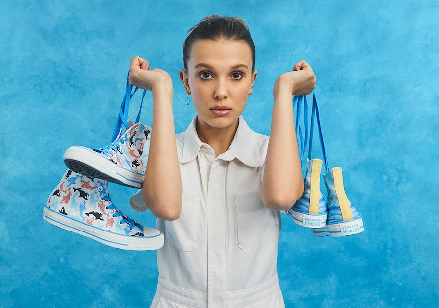 Millie Bobby Brown Converse Chuck Taylor Millie By You Release Date Info