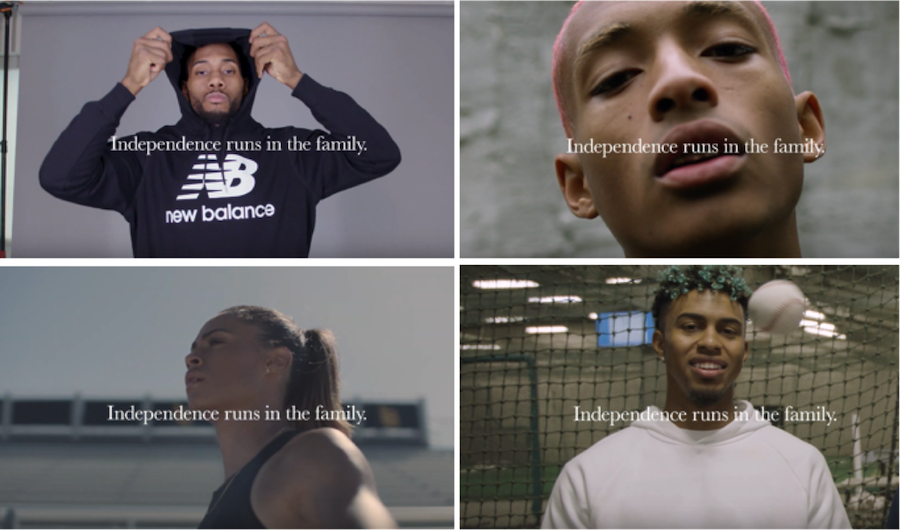 New Balance Runs in the Family Campaign