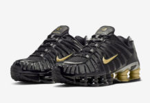 Neymar Nike Shox TL Black Gold BV1388-001 Release Date Info