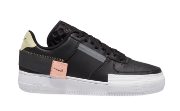 Nike AF1 Type Black CI0054-001 Release Date Info