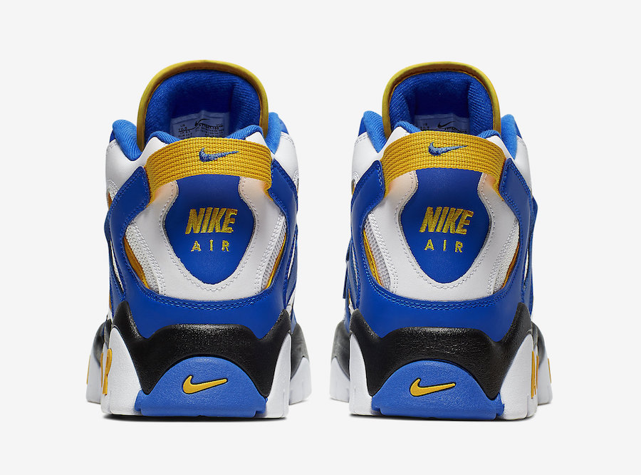 Nike Air Barrage Mid Warriors AT7847-100 Release Date Info