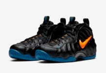 Nike Air Foamposite Pro Knicks 624041-010 Release