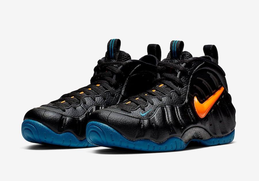 Nike Air Foamposite Pro Knicks 624041-010 Release