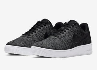 Nike Air Force 1 Flyknit 2.0 Black White CI0051-001 Release Date Info