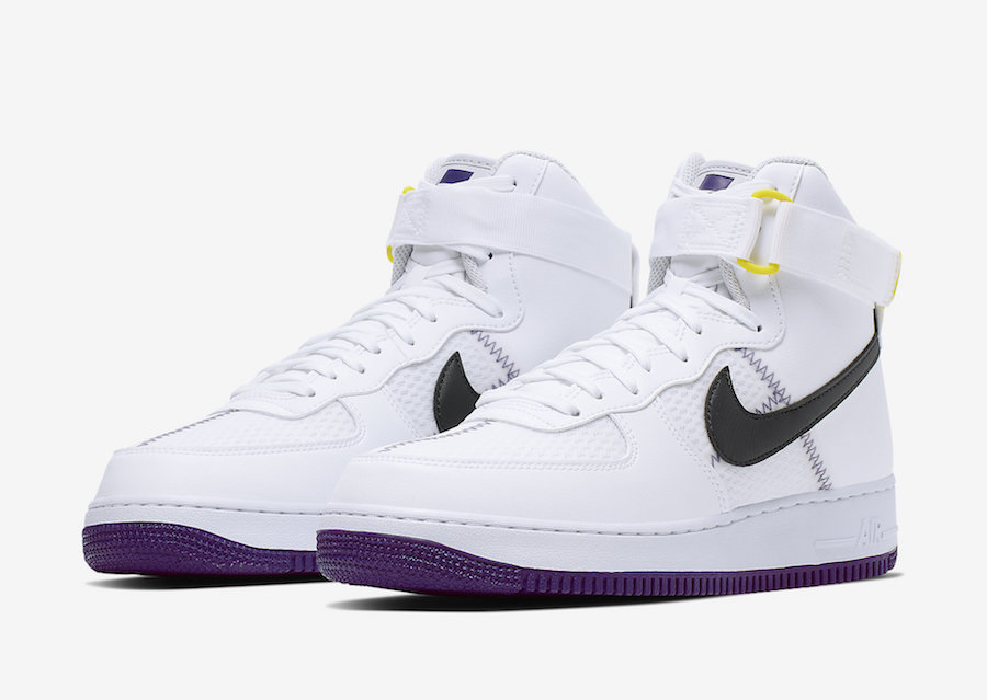 Brisa Cementerio Tormento  Nike Air Force 1 High White Court Purple CI1117-100 Release Date Info |  SneakerFiles