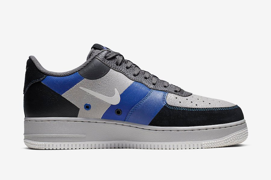 Nike Air Force 1 Low Atmosphere Grey Game Royal CI0065-001 Release Date Info