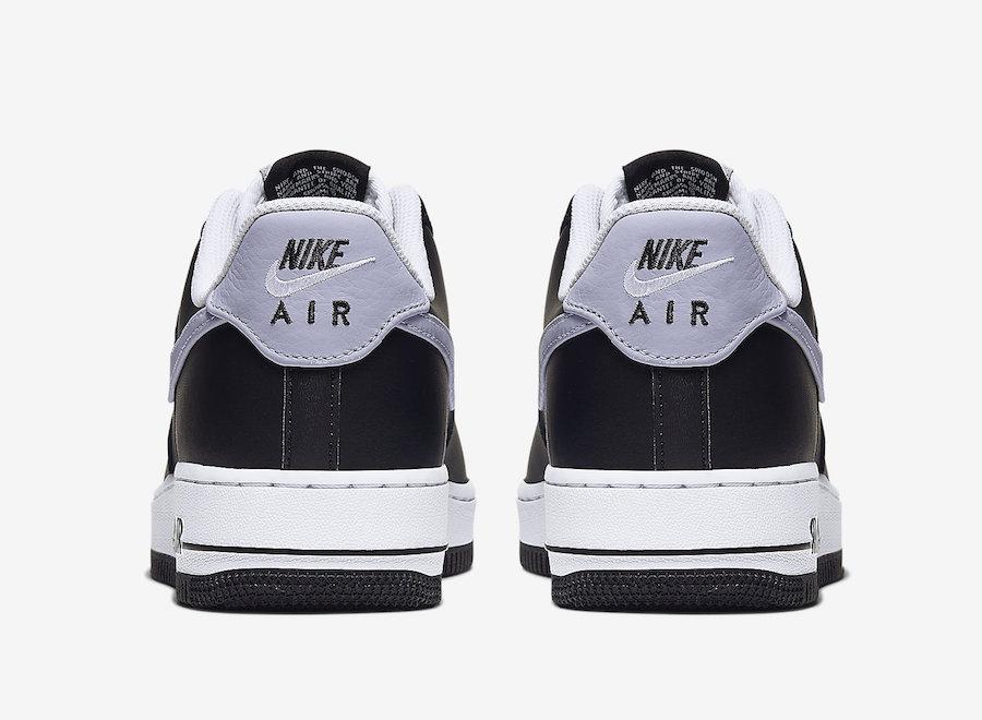 Nike Air Force 1 Low Black Wolf Grey CJ8731-001 Release Date Info