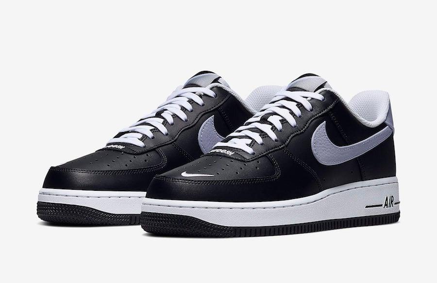 Nike Air Force 1 Low Black Wolf Grey