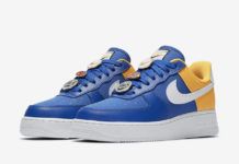 Nike Air Force 1 Low Golden State Warriors AA0287-401 Release Date Info