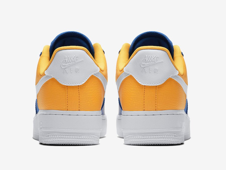 Nike Golden Warriors Release Aa0287 401 Force Air Date State Low 1 D9I2EH