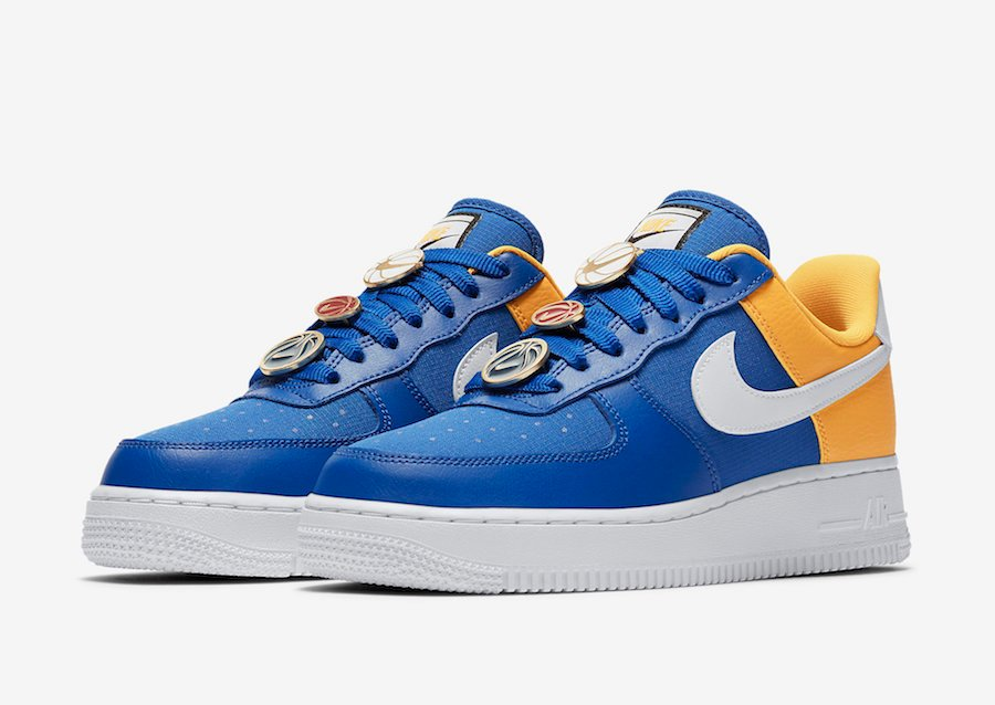 Nike Air Force 1 Low Golden State Warriors AA0287 401