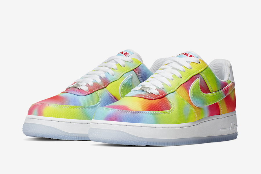 Nike Air Force 1 Low Tie-Dye Chicago CK0838-100 Release Date Info