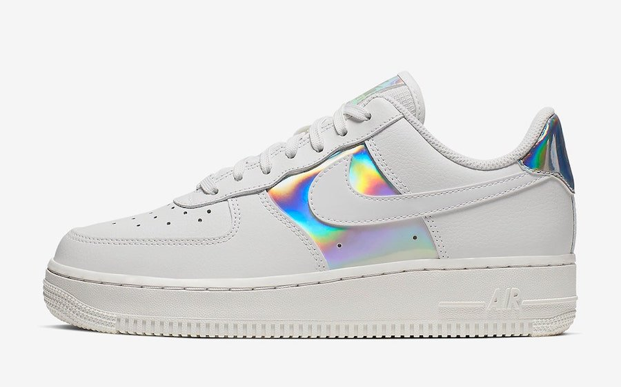 Nike Air Force 1 Low White Iridescent Pack CJ9704-100 Release Date