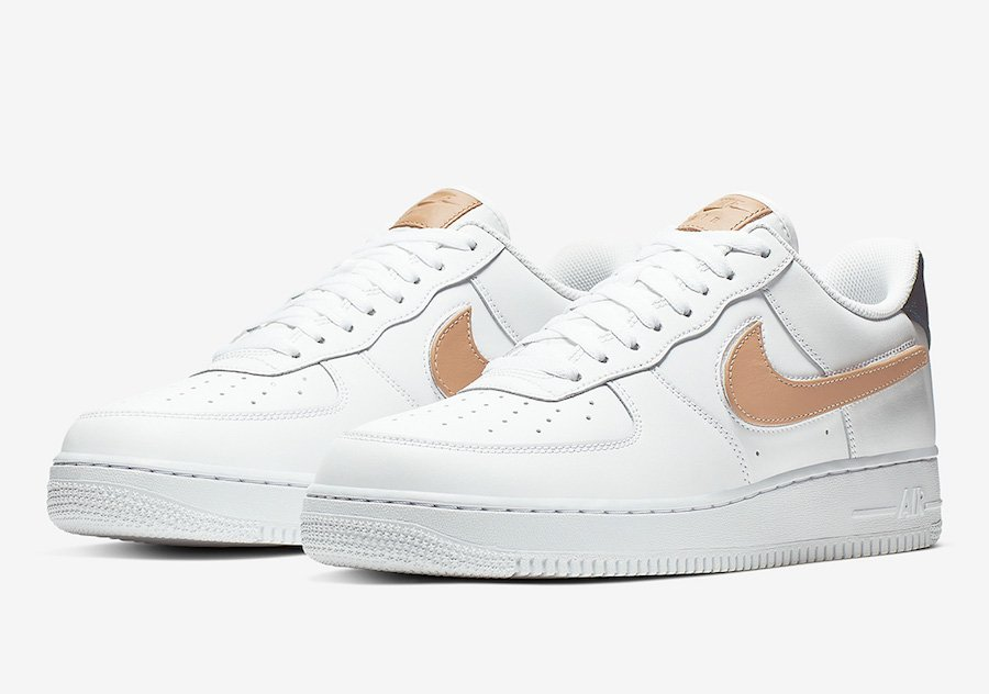 Nike Air Force 1 Low White Vachetta Tan CT2253-100 Release Date Info