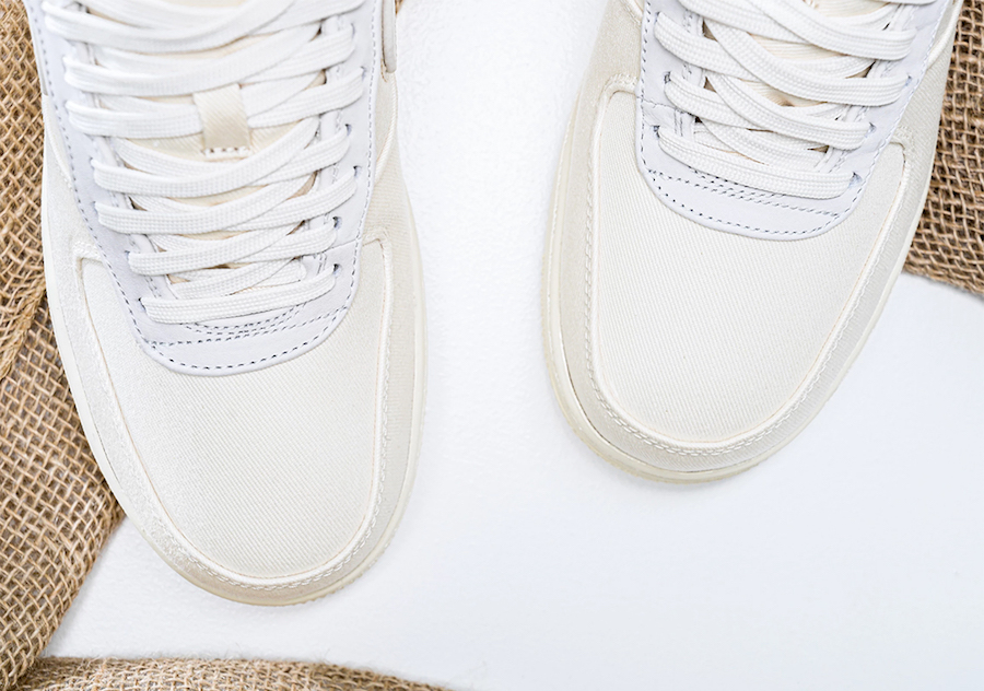 Nike Air Force 1 PRM Pale Ivory CI1116-100 Release Date Info