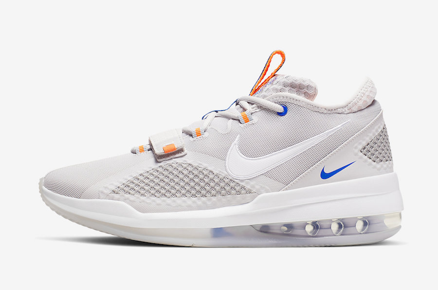 Nike Air Force Max Low Grey Total Orange BV0651-005 Release Date Info