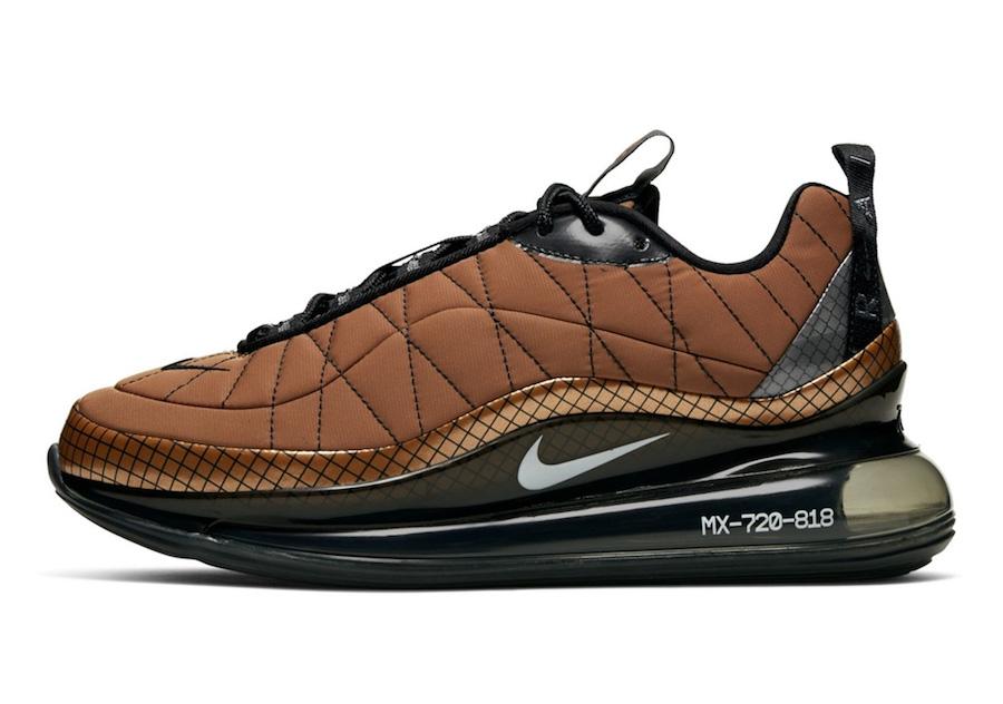 Nike Air MX 720-818 Metallic Cooper BV5841-800 Release Date Info