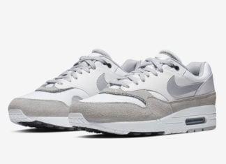 Nike Air Max 1 White Black Wolf Grey AH8145-113 Release Date Info