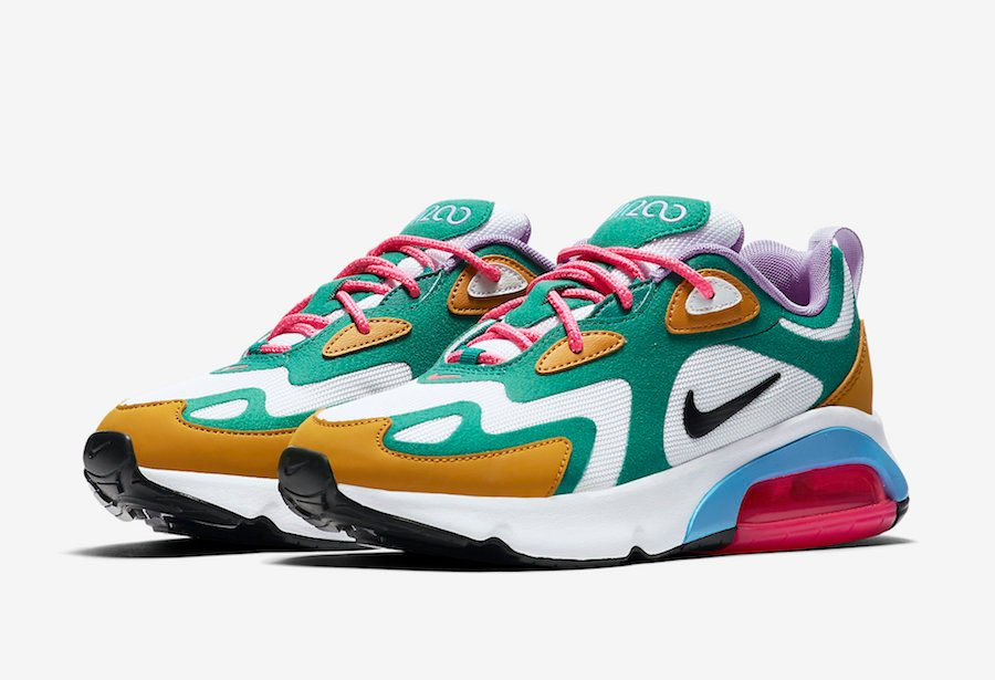Nike Air Max 200 Mystic Green AT6175-300 Release Date Info ...