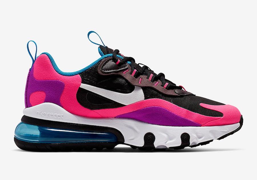 Nike Air Max 270 React Hyper Pink BQ0101-001 Release Date Info