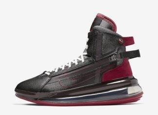 Nike Air Max 720 Saturn Black Team Red AO2110-004 Release Date Info