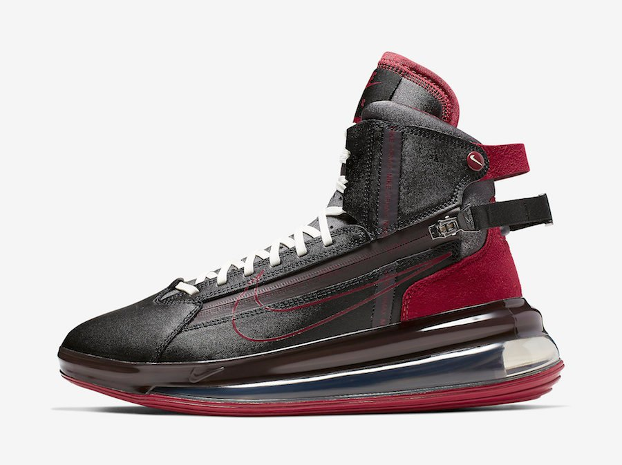 Nike Air Max 720 Saturn Black Team Red AO2110-004 Release Date Info