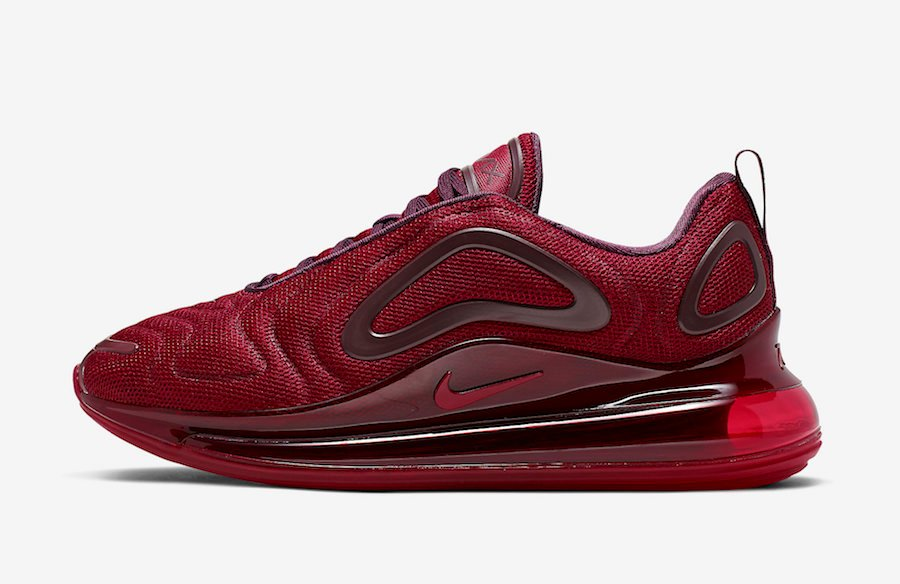 Nike Air Max 720 University Red Night Maroon AO2924-601 Release Date Info