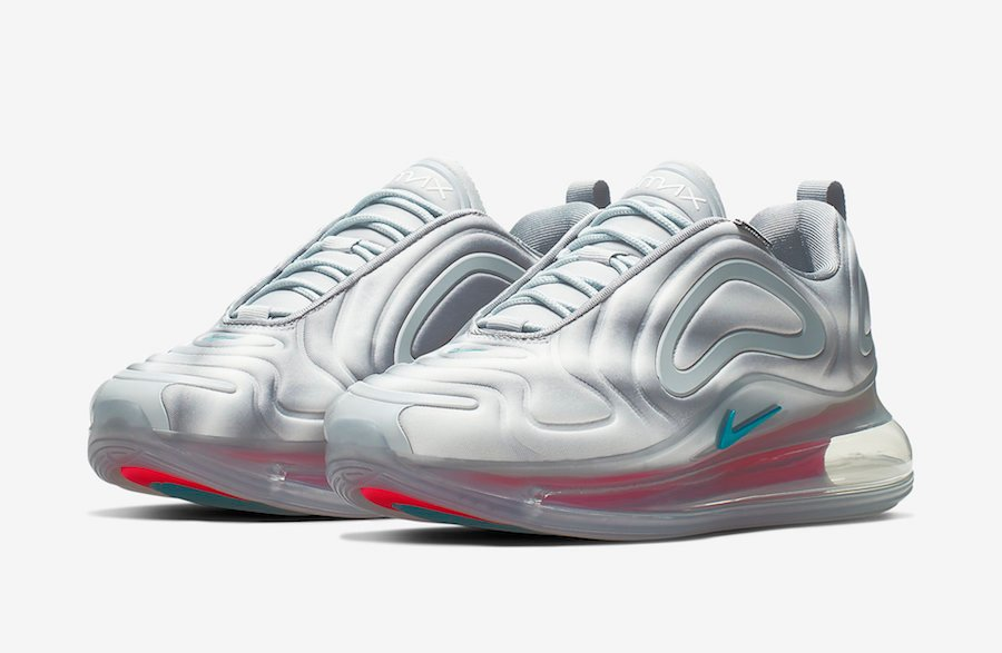 Nike Air Max 720 Wolf Grey Red Orbit AR9293-011 Release Date Info