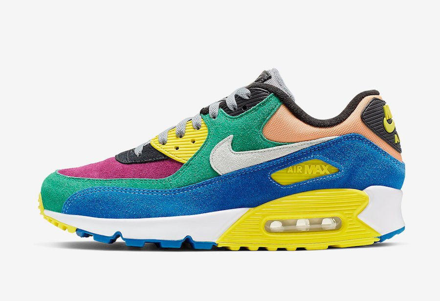 Nike Air Max 90 Viotech 2.0 Lucid Green Game Royal CD0917-300 Release Date Info
