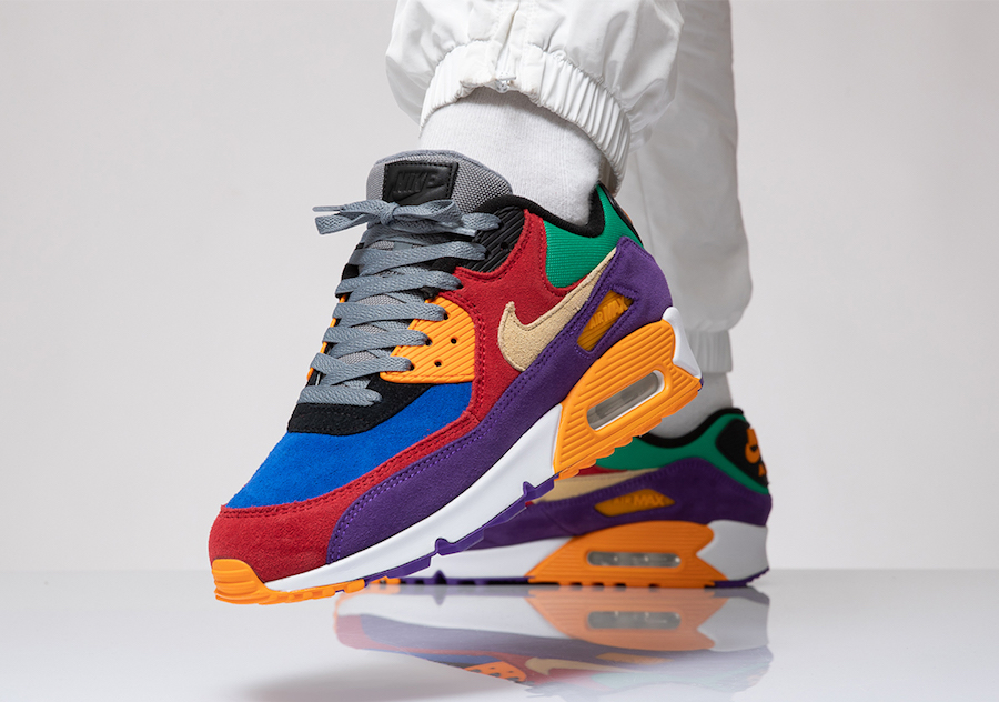 Nike Air Max 90 Viotech CD0917-600 Release Date