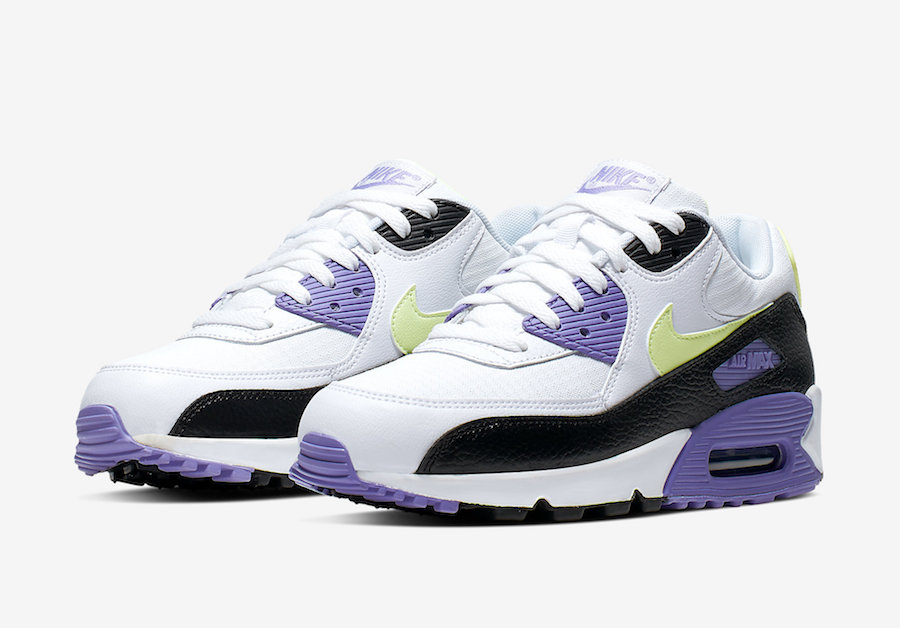 Nike Air Max 90 WMNS Barely Volt Purple 325213-142 Release Date ...