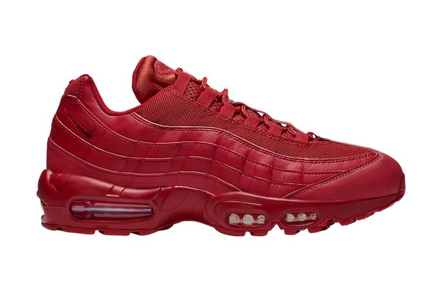 Nike Air Max 95 Triple Red BQ9969-600 Release Date Info