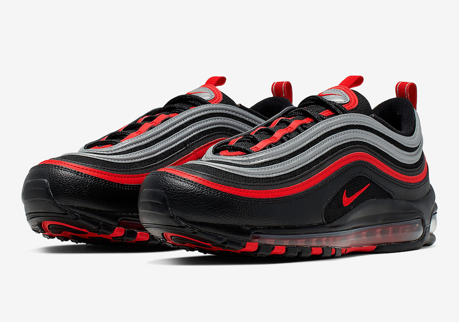Nike Air Max 97 Black Red Silver 921826-014 Release Date Info