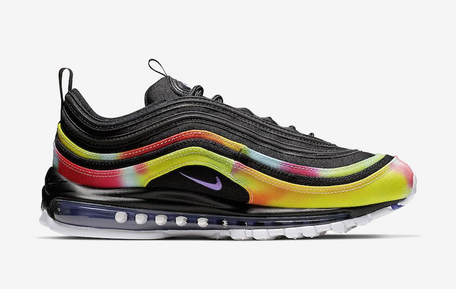Nike Air Max 97 Tie-Dye Black CK0841-001 Release Date Info