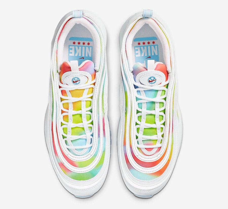 Nike Air Max 97 Tie Dye White CK0839