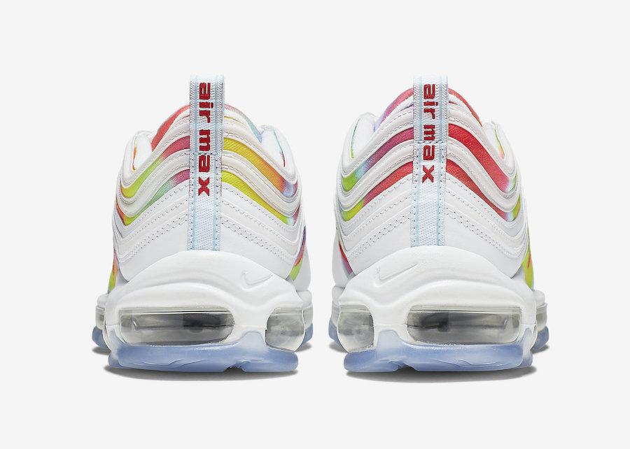 Nike Air Max 97 Tie-Dye White CK0839-100 Release Date Info