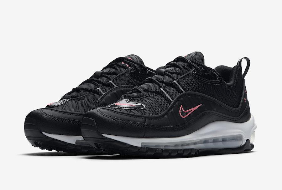 Nike Air Max 98 Black Pink CN0140-001 Release Date Info