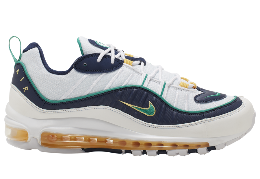 Nike Air Max 98 Mighty Ducks CI3693-100 Release Date Info | SneakerFiles