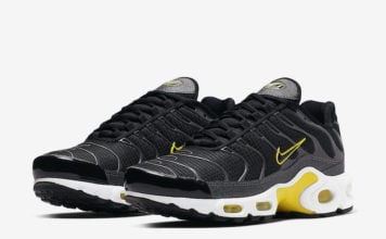 Nike Air Max Plus Black Active Yellow CN0142-001 Release Date Info