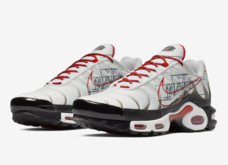 Nike Air Max Plus Graphic Paper CK9392-100 Release Date Info