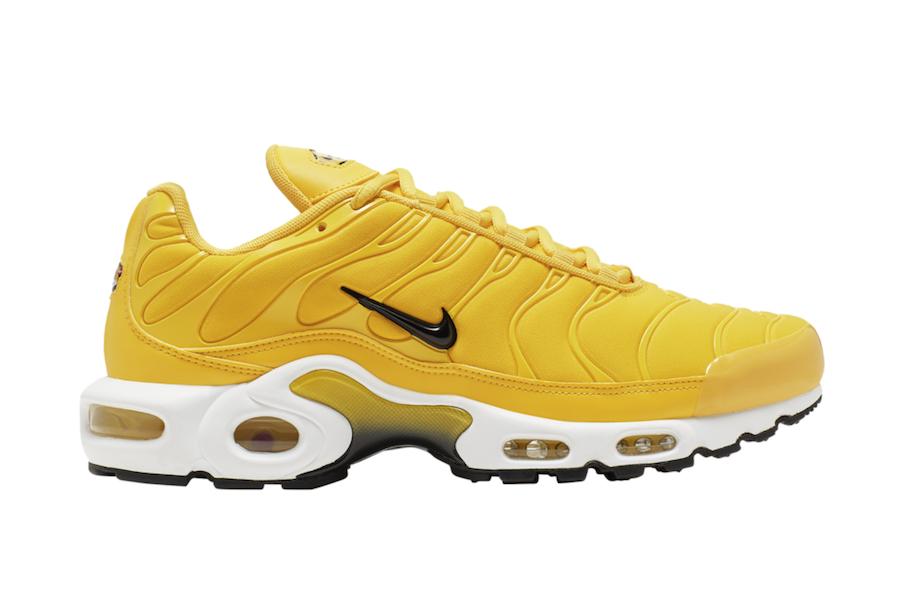 Nike Air Max Plus Yellow BQ9978-700 Release Date Info