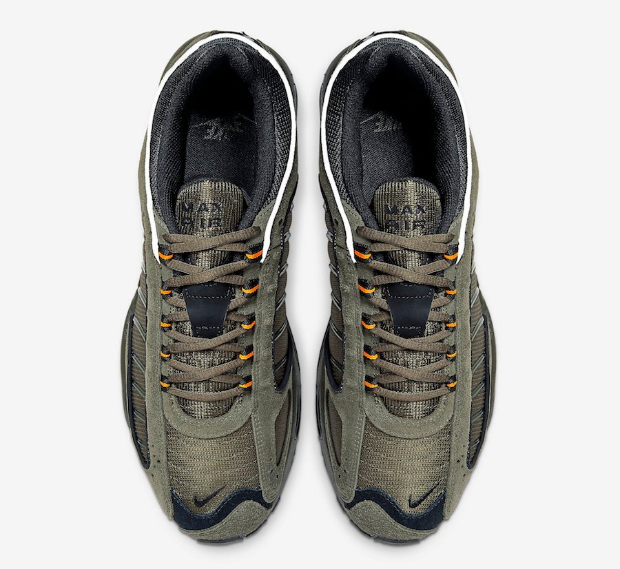 Nike Air Max Tailwind 4 Olive Orange CJ9681-300 Release Date Info