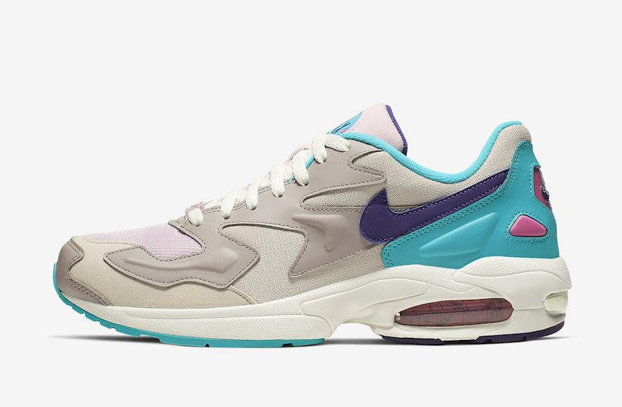Nike Air Max2 Light Aqua Teal Purple CK2958-051 Release Date Info