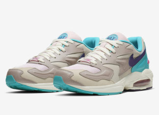 Nike Air Max2 Light Aqua Teal Purple CK2958-051 Release Date Info