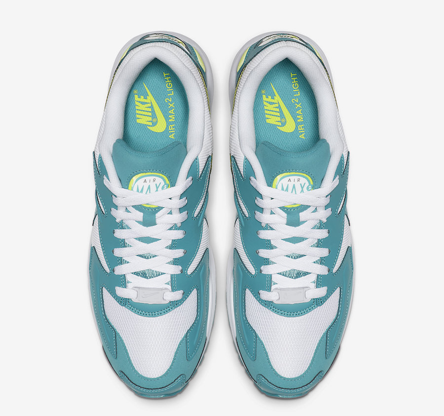 Nike Air Max2 Light Teal Nebula AO1741-105 Release Date Info